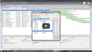 TILOS Linear Software: P6 import.
